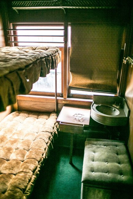 Sleeper Car Greenwood Museum