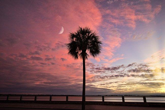 South Battery Sunset