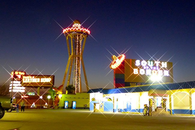 South of the Border Lights