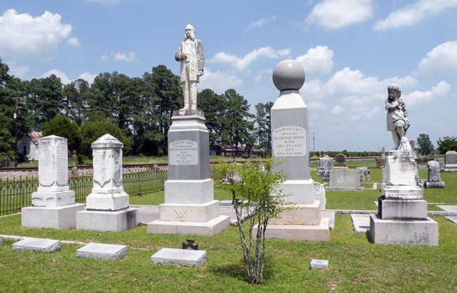 Spann Cemetery, Clinton Ward Family