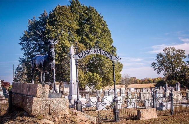 Spann Methodist Cemetery Ward