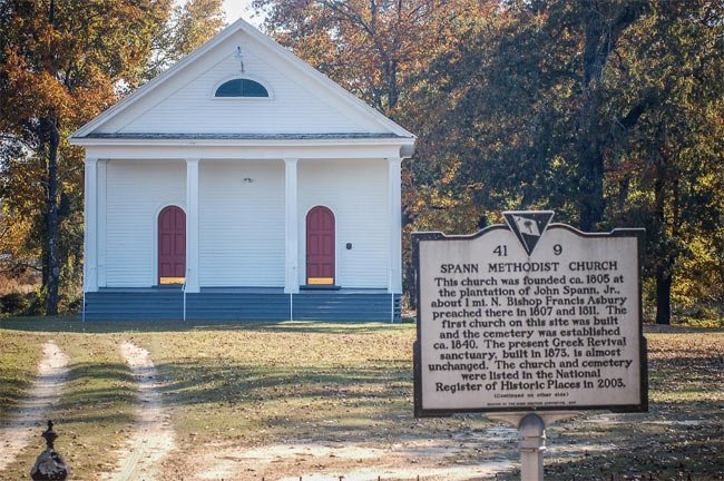 Spann Methodist Church