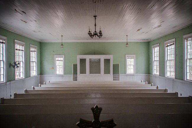 Speedwell Methodist Interior