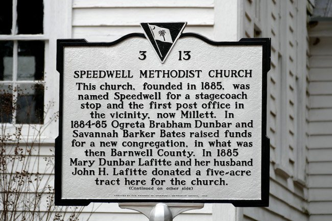 Speedwell Methodist Marker