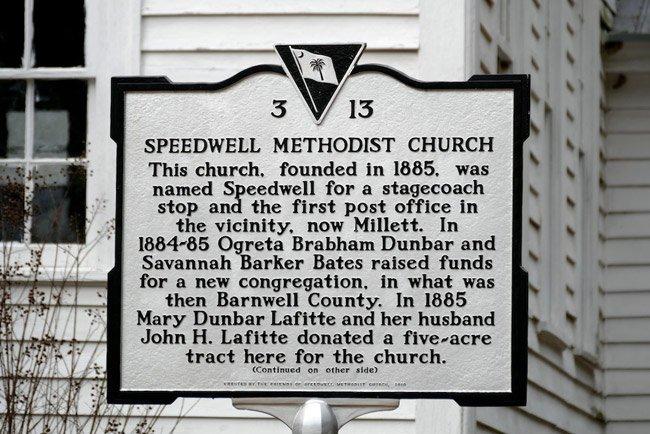 Speedwell Methodist Marker