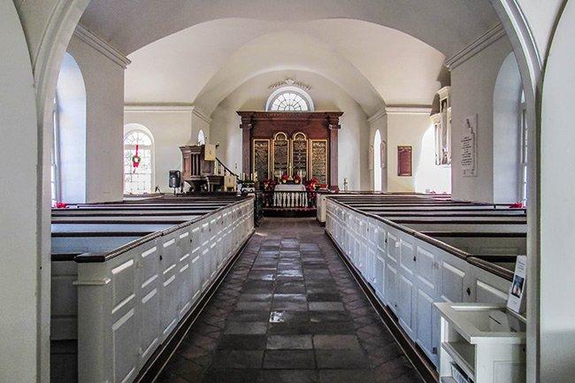 Old St. Andrews Interior