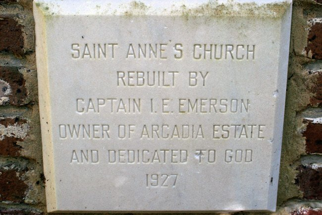 St. Ann's Marker