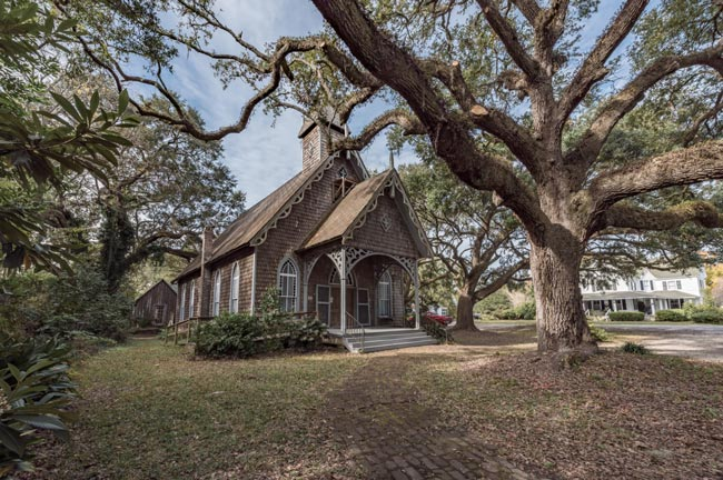 St. James Church McClellanville