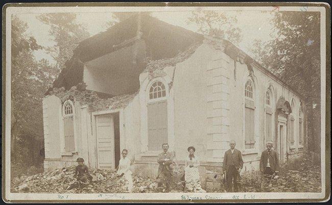 St. James Goose Creek Church Earthquake of 1886 Damage