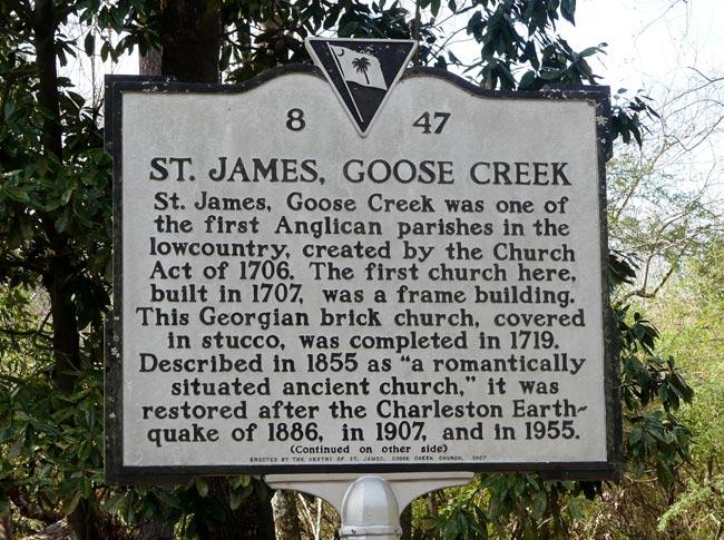 St. James Marker
