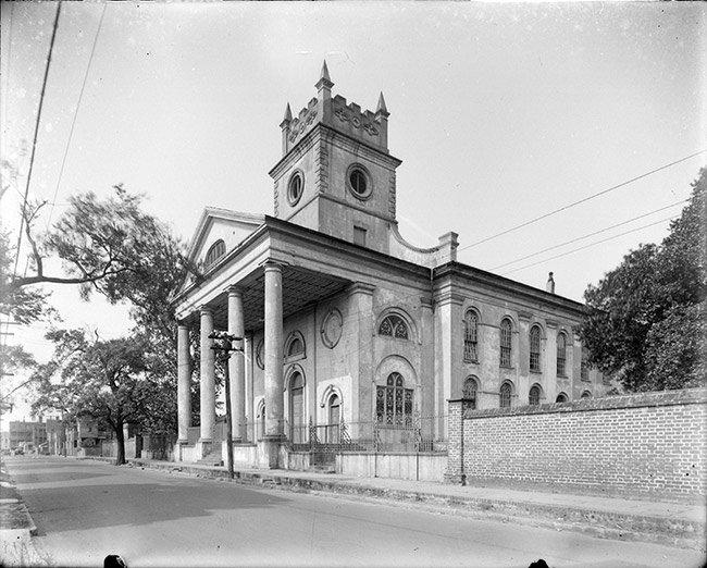 St. John's Lutheran Church, before steeple cupola