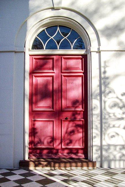 St. John's Lutheran Church, Door Detail