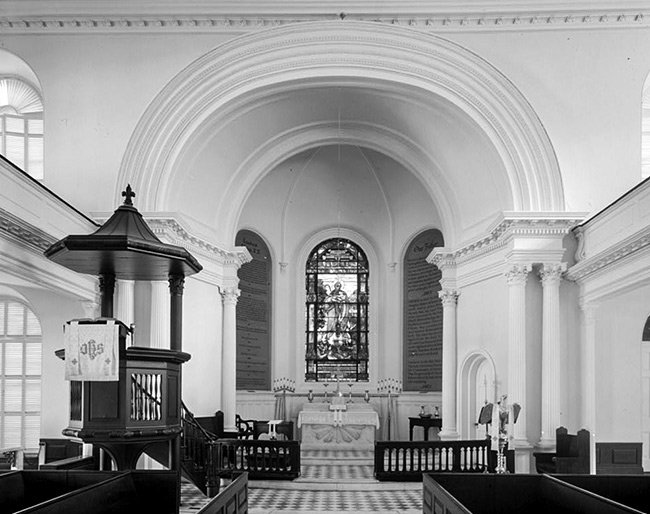 St. John's Lutheran Church Pulpit and Altar