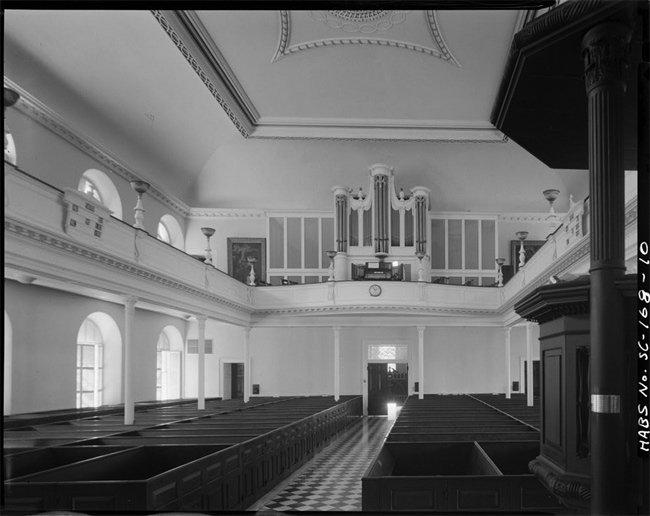 St. John's Lutheran Interior Historical