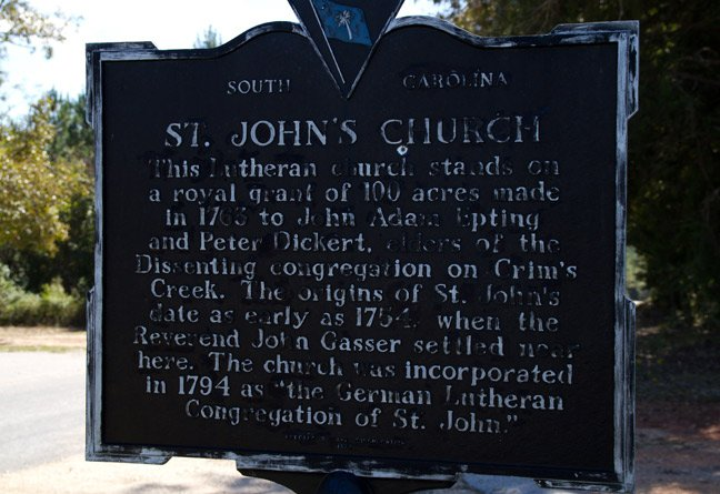 St. John's Marker
