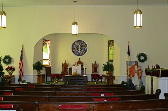 St. Luke Interior