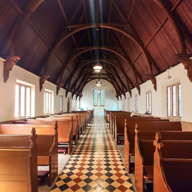 St. Marks Episcopal Church Interior