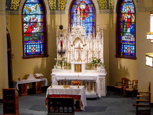 St. Mary Aiken Altar