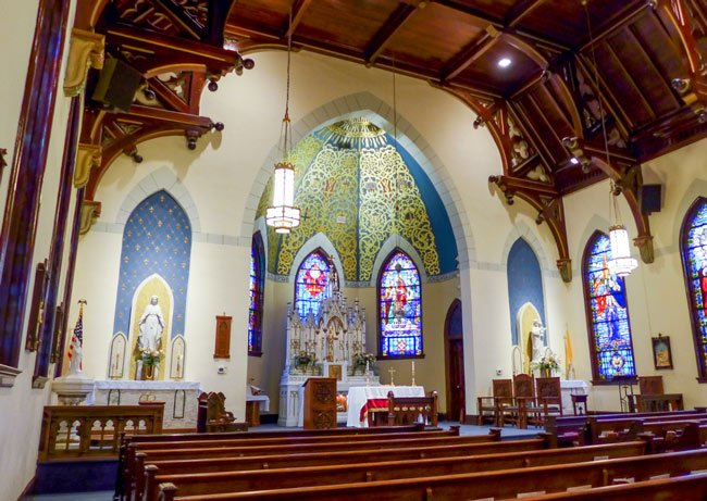 St. Mary Aiken Interior