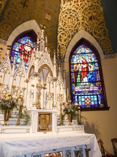 St. Mary Church Aiken Interior