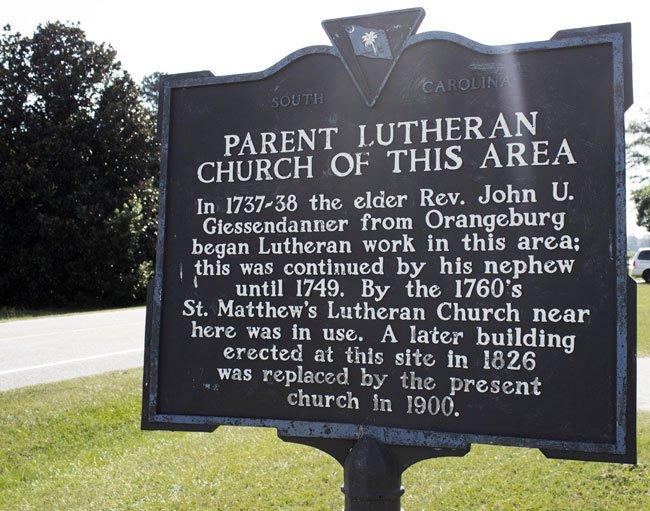 St. Matthew's Lutheran Marker Creston