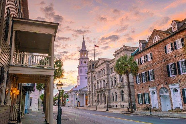 St. Michael's on Broad Street in Charleston