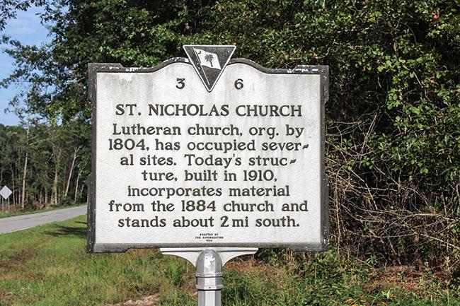 St. Nicholas Church Marker