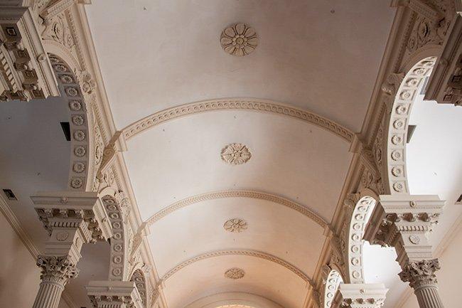 St. Philips Church Interior Ceiling Detail