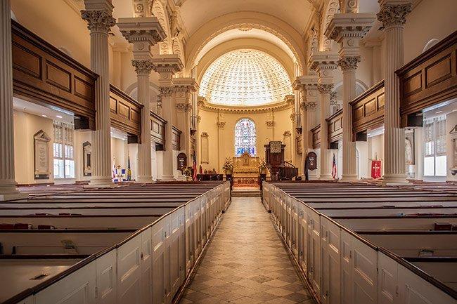 St. Philips Church Interior