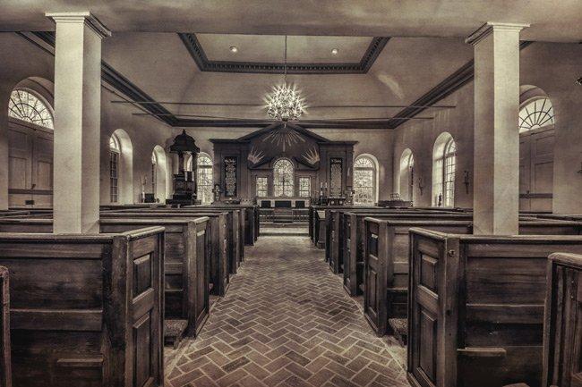 St. Stephen Interior Berkeley