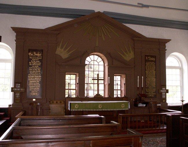 St. Stehphen's Episcopal Interior