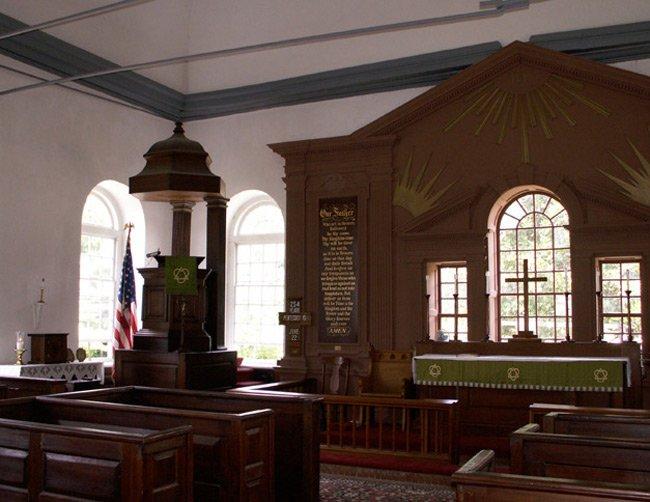 St. Stephen Episcopal Pulpit