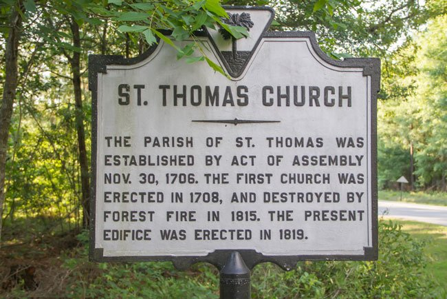 St. Thomas Marker