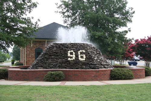 Star Fort Fountain