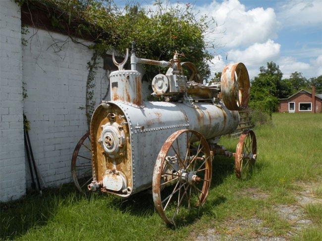 Steam Engine Pulley Elloree