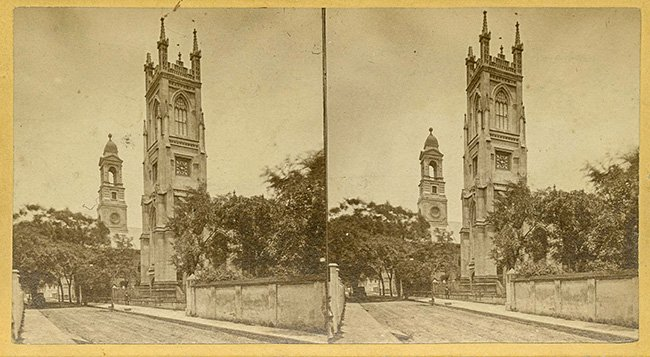 Stereograph View of St. John's Lutheran