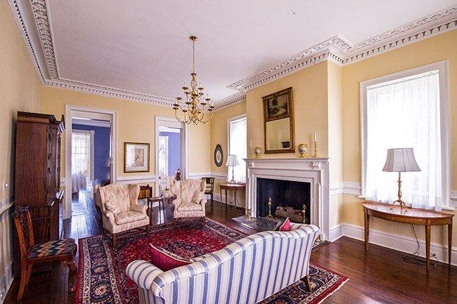 Stewart-Parker House Living Room