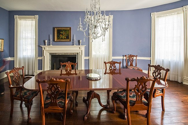 Stewart-Parker House Dining Room