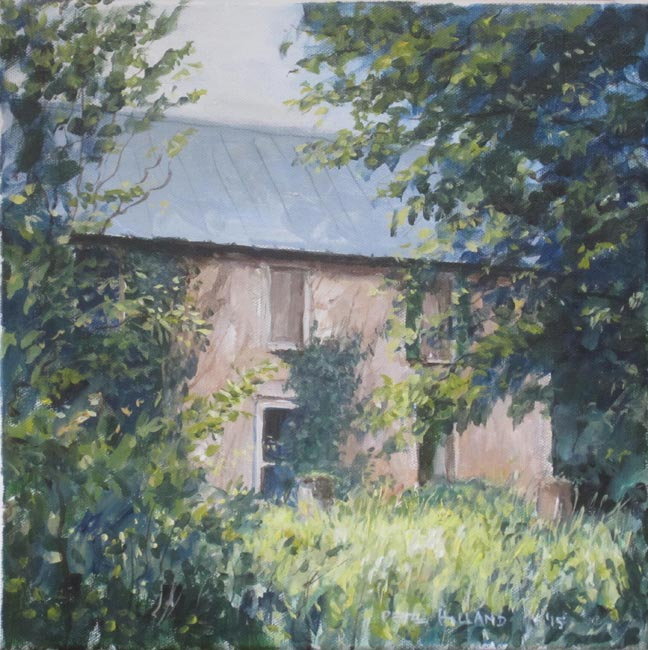 Stone House Painting
