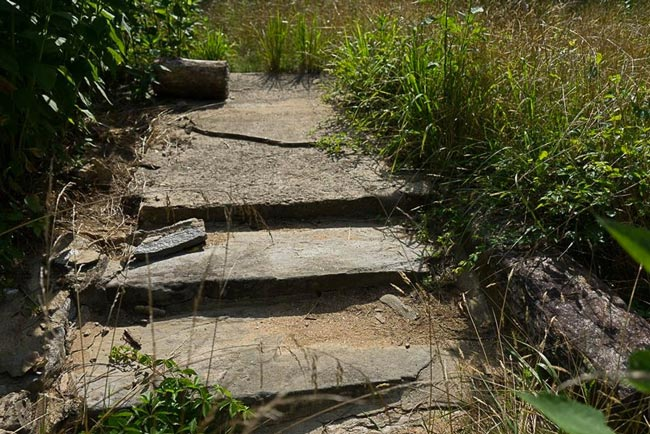 Stone Steps Russell Farmstead