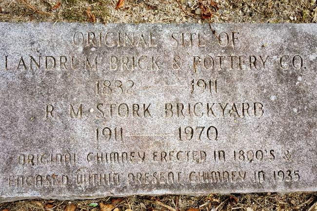 Stork Brickyard Marker