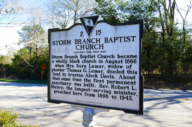 Storm Branch Marker