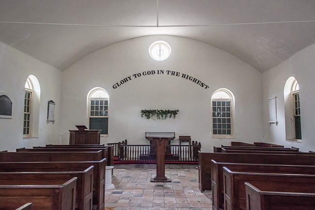 Strawberry Chapel Interior View