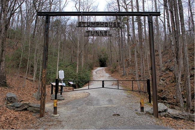 Stumphouse Tunnel Gate