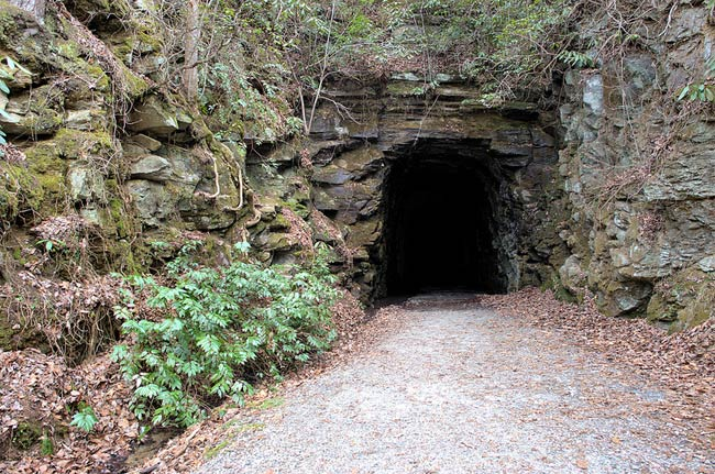 Stumphouse Tunnel in South Carolina
