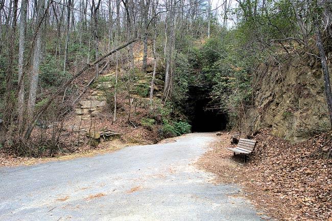 Stumphouse Tunnel in Walhalla SC