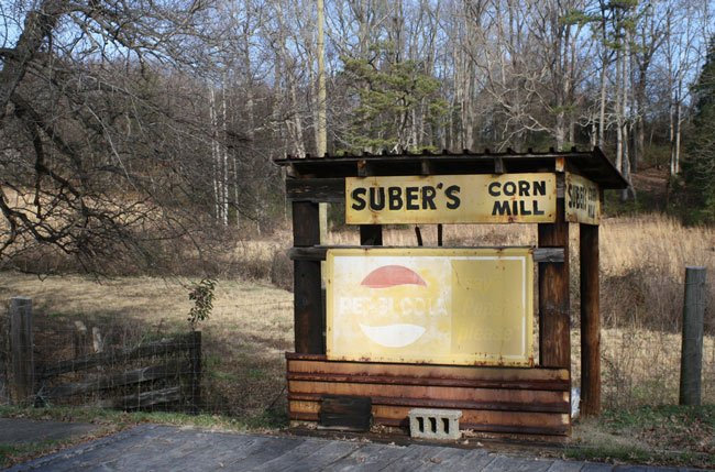 Suber's Mill Sign