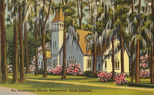 Summerville Presbyterian Postcard