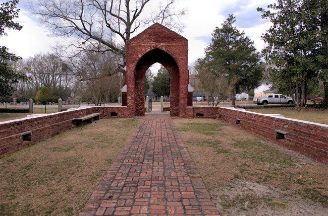 Sumter SC Zion Church Ruins
