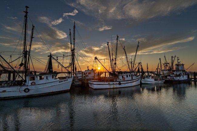 Sunset on Port Royal
